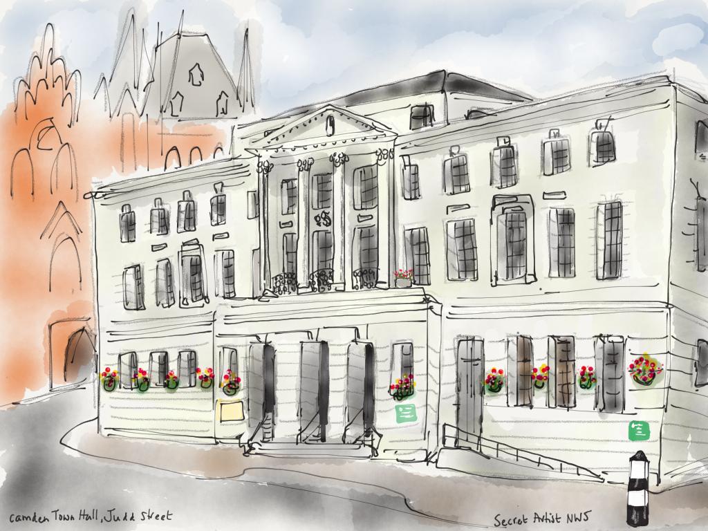 Camden Town Hall, Judd Street