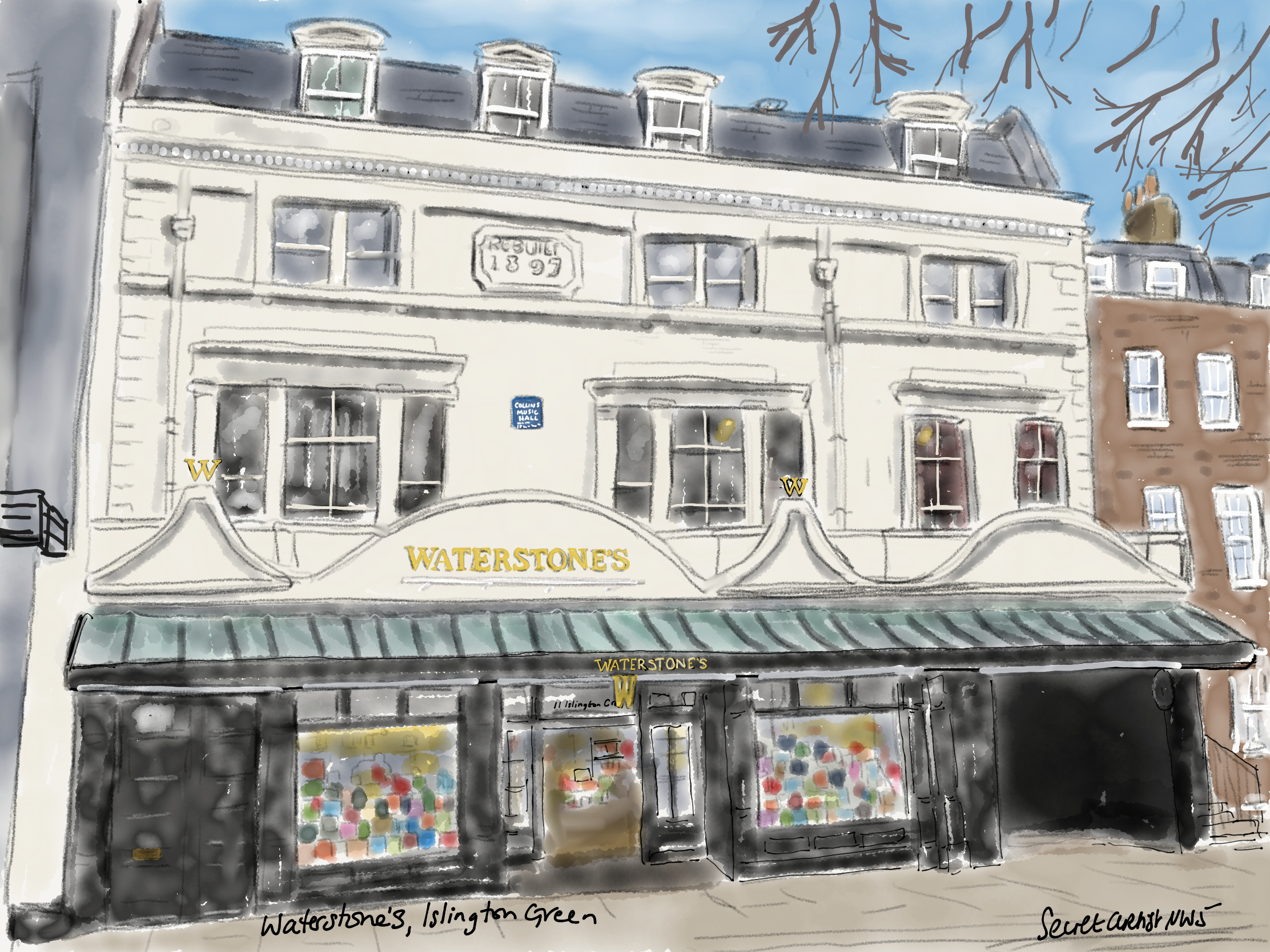 Waterstone's, Islington Green