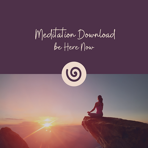 Be Here Now Meditation