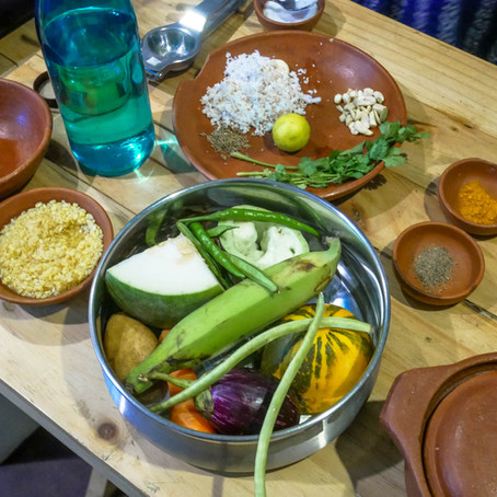 Looks Can Be Deceiving - An Indian Ayurvedic Cooking Class