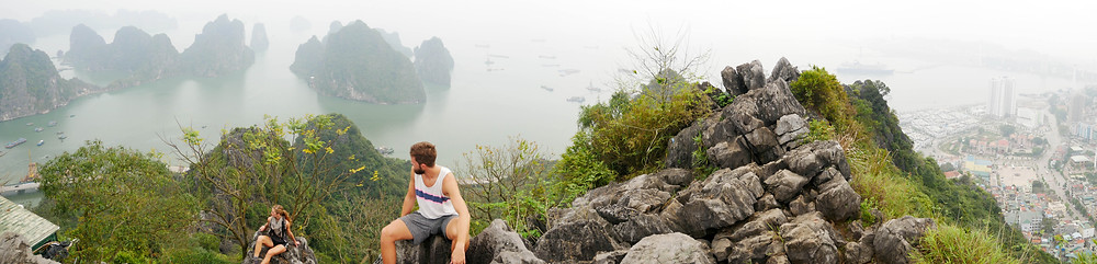 Bai Tho Mountain, Halong Bay, Vietnam