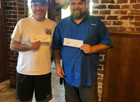 Post receives donation from local business