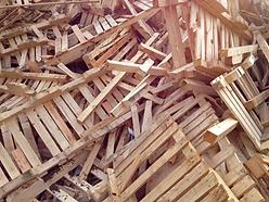 grade A waste wood