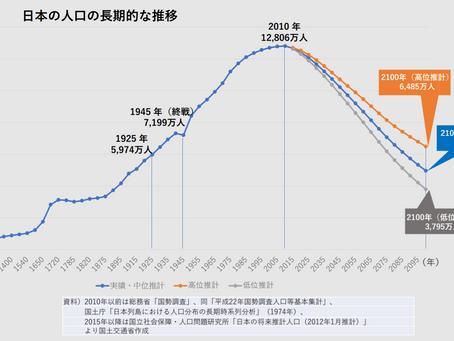 2100年、リサイズにっぽん ~人口減少時代の新芽の息吹~①