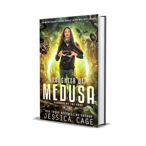 Daughter of Medusa, Scorned by the Gods book 2