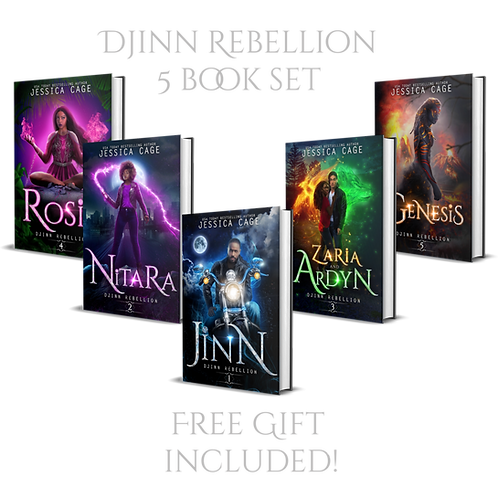 Djinn Rebellion Set - Books 1 - 5 - Signed