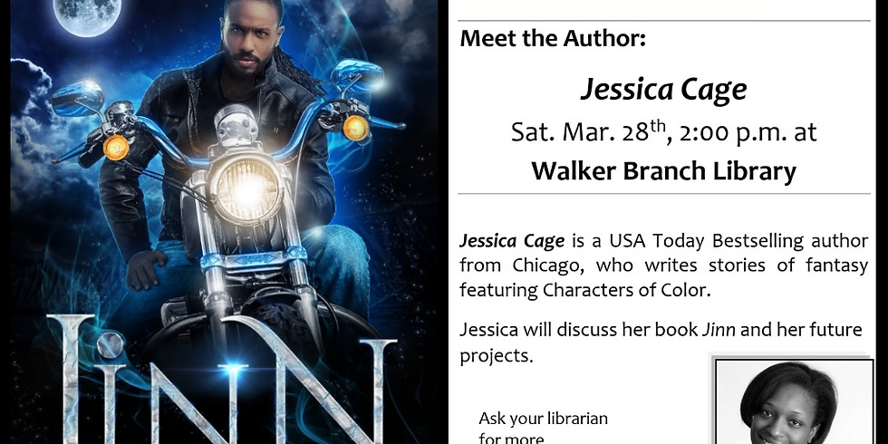 Meet the Author @ Walker Branch Library