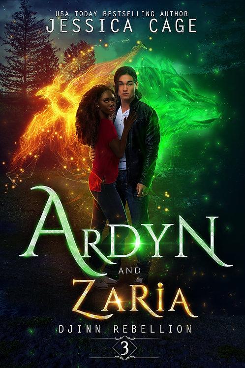 Ardyn & Zaria -Damaged / Misprinted
