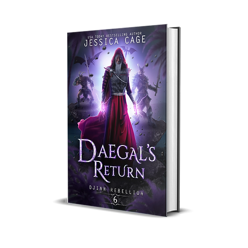 Daegal's Return - Djinn Rebellion book 6