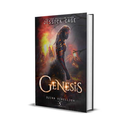 Genesis, Djinn Rebellion book 5 signed paperback