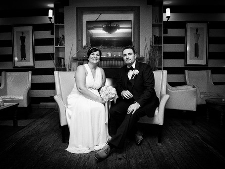 Jill and Clives December Wedding