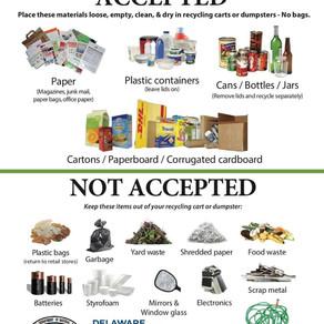 Recycling in Delaware