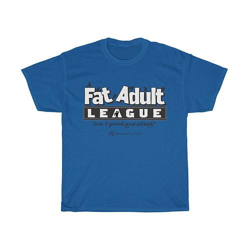 Official Fat Adult League Tshirt
