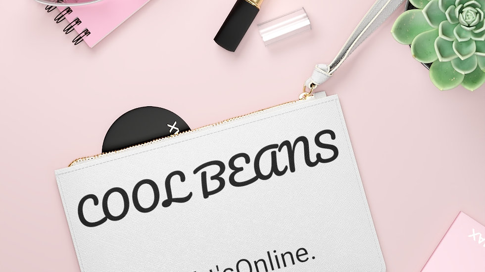 Clutch Bag-Cool Beans
