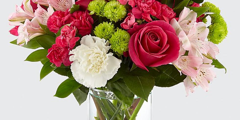 FREE Virtual Workshop - Spring Vase Arrangement!