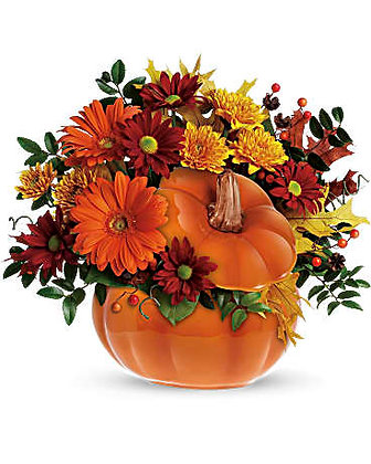 Classic Give Thanks Pumpkin