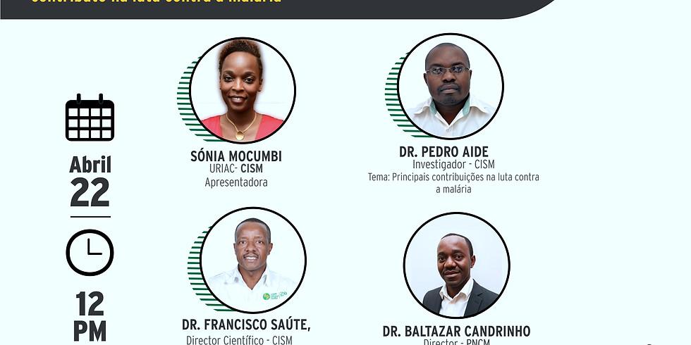 WEBINAR Alusivo ao Dia da Malária