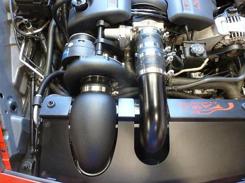 A&A 2005-2013 Corvette Blacked Out Supercharger