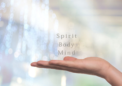 Spirit, Body and Mind healthy lifestyle.