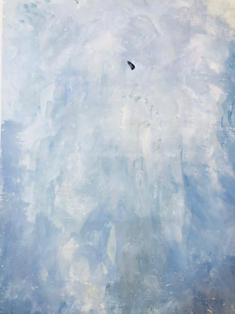 Sky blue paint