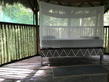 Treehouse Interior- handpainted beds