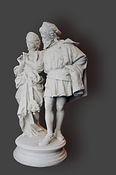 Restauration d'une statue