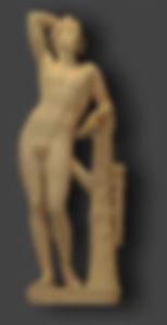 Restauration d'une statue en marbre