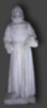 statue en terre cuit