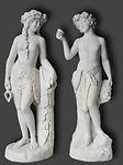 Restauration de statues