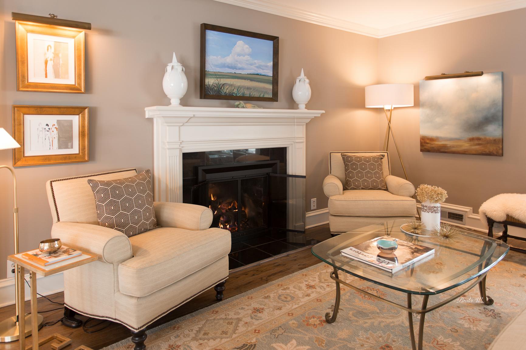add gallery Braeside living room