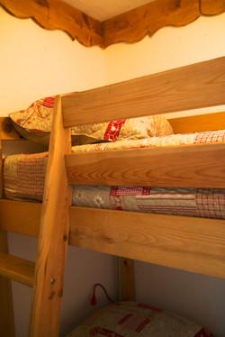 Chambre 2 / lits superposés