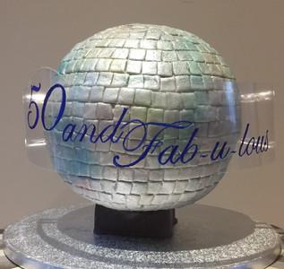 Glitter Ball Cake