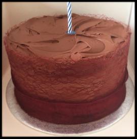 Choclate Fudge Birthday Cake