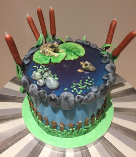 Frog Pond Cake