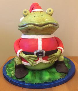 Toad Santa