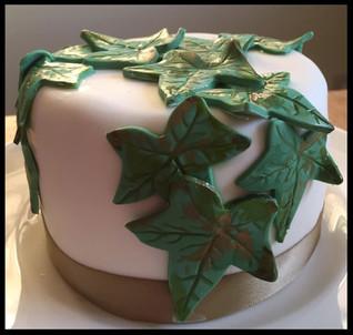 Tiny Ivy Fruit Cake