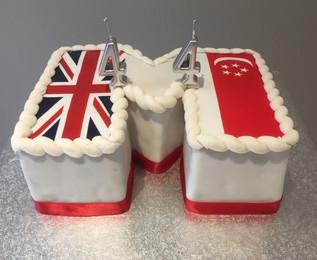 'M' UK/Singapore Cake