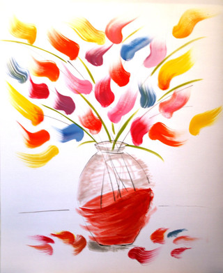 The Red Vase