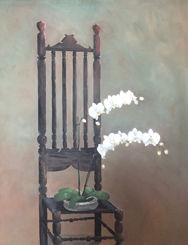 Chair and Orchid.JPG