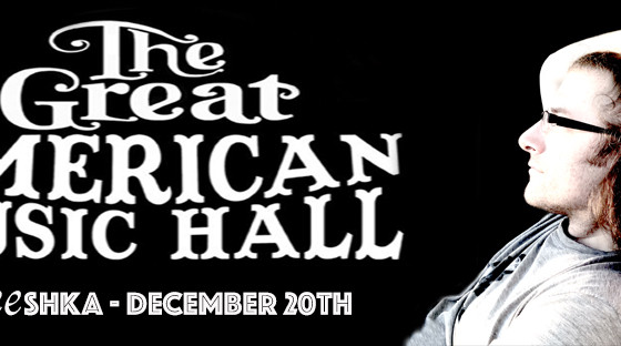 Live @ The Great American Music Hall in SF! December 20th.