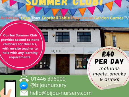 Summer Club for Over 6's!
