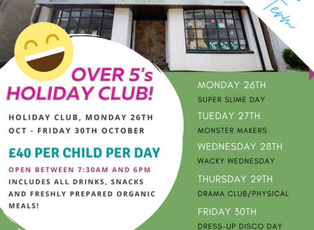 Half-term Holiday Club October 2020!