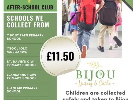 Term-Time School Pick-Ups and After School Club £11.50