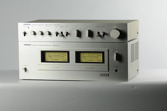 Ampli/pré-ampli Hitachi HMA/HCA-6500
