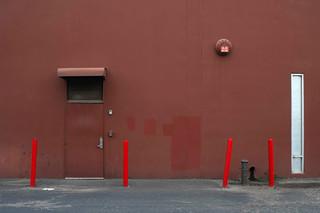 REDS; WALL & POLES