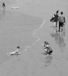 BEACH VISIT