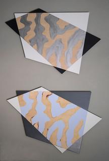 DIPTYCH DIALOGUE  window pane, magic carpet