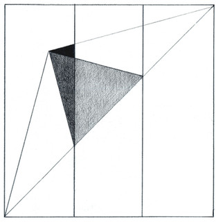 THIRDS OF A SQUARE
