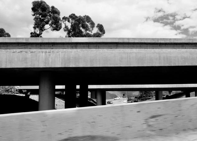 BRIDGE WORK LA 10 FWY