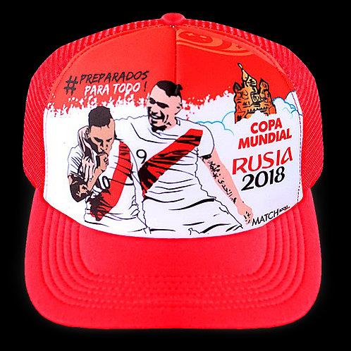 Gorro Peru mundial Rusia 2018 MSGP09